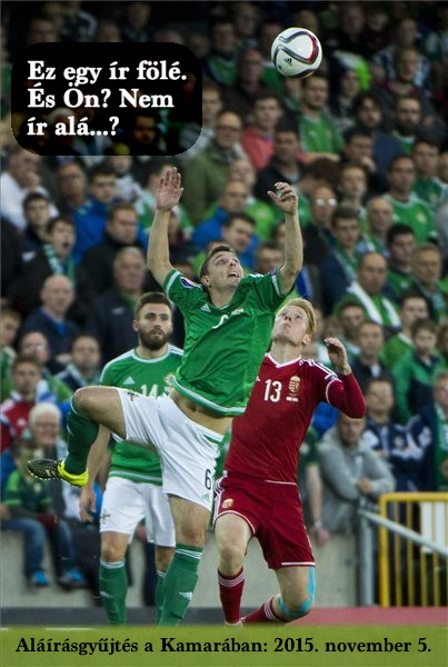Ha már Kálmán bátyánk volt, hát az (észak) ír - magyar meccs sem maradhatott ki