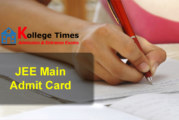 JEE Mains admit Cards 2017 :- Download Here