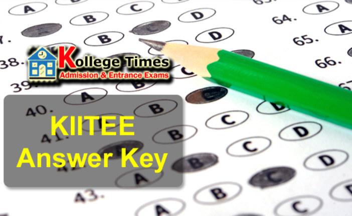 KIITEE Answer Key 2017 :- Check Here