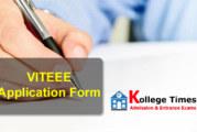 VITEEE Application Form 2017 | VITEEE 2017 Exam :- Apply Here