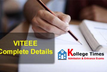 VITEEE 2018 | VIT Admission  Application Form Released
