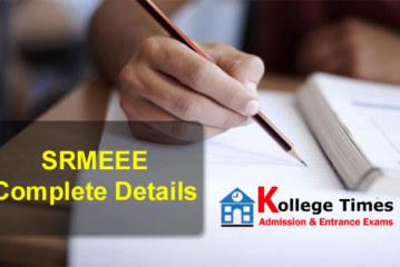 SRMJEEE 2018 Complete Exam Details   SRM Univesity