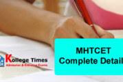MHTCET 2018 Complete Details