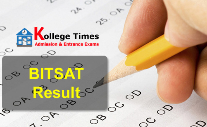 BITSAT 2018 Result | BITSAT Score :- Download
