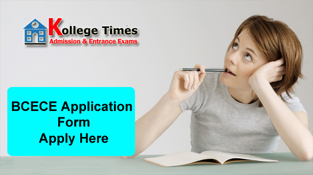 BCECE Application Form 2018 Apply Here - Admission