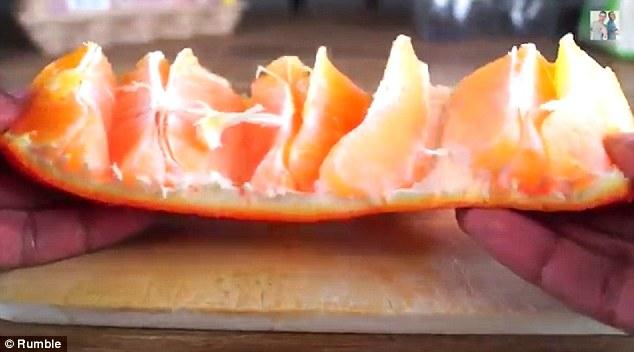 تقشير البرتقال2