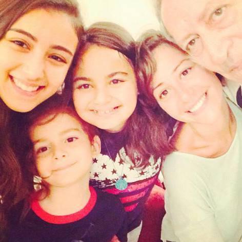 منة شلبي ووالدها
