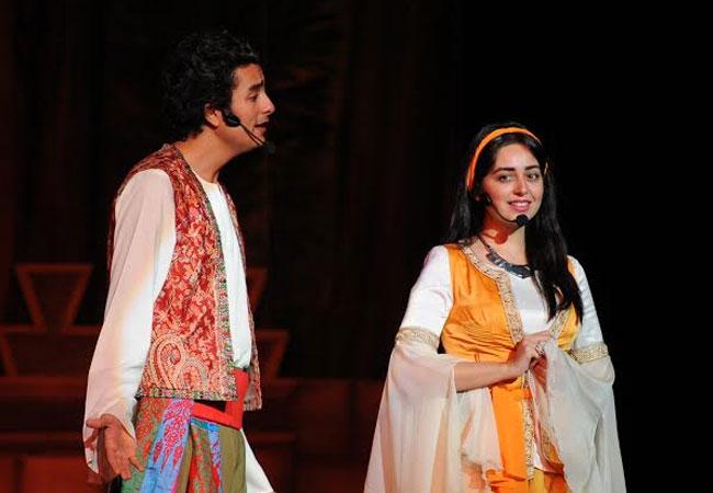 هبة مجدي و محمد محسن -بارزة