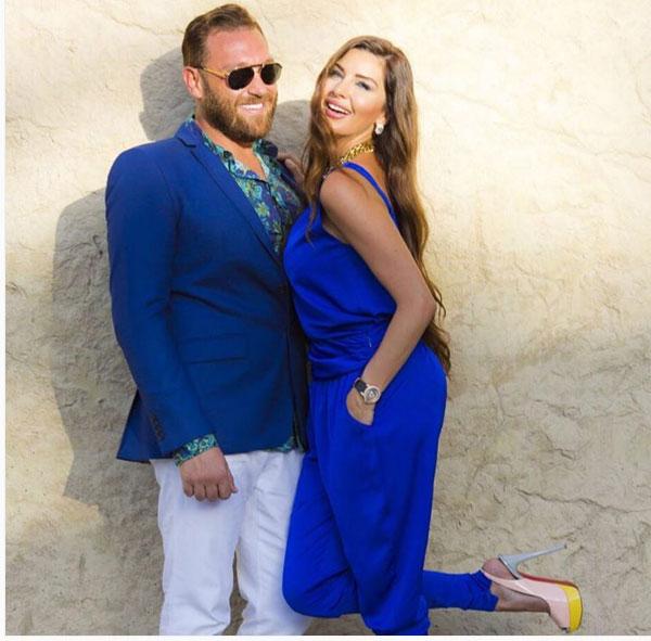 لاميتا فرنجيه وزوجها