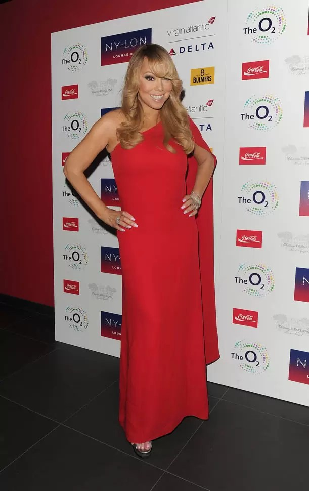 Mariah Carey arriving for her official afterparty at Nylon Bar in the o2 Arena, following her gig. Featuring: Mariah Carey Where: London, United Kingdom When: 23 Mar 2016 Credit: Will Alexander/WENN.com