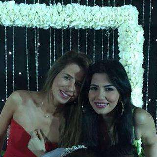 أميرة هاني وشقيقتها