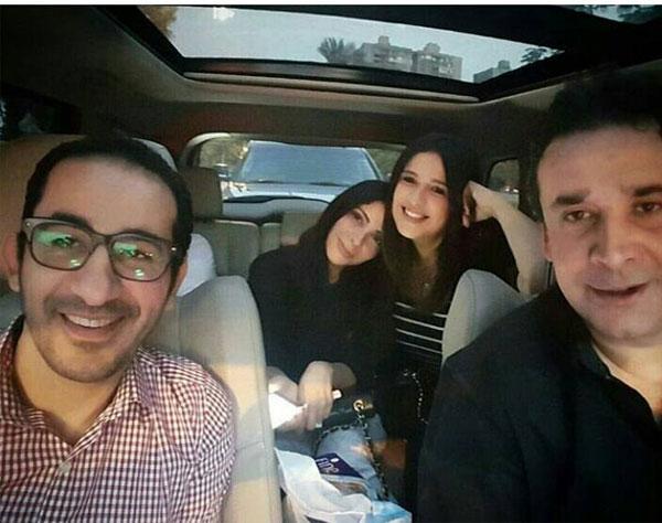 كريم عبدالعزيز و احمد حلمي و منى زكي