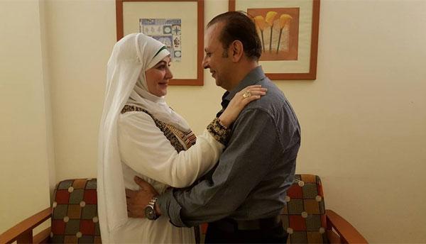 ميار الببلاوي وخطيبها