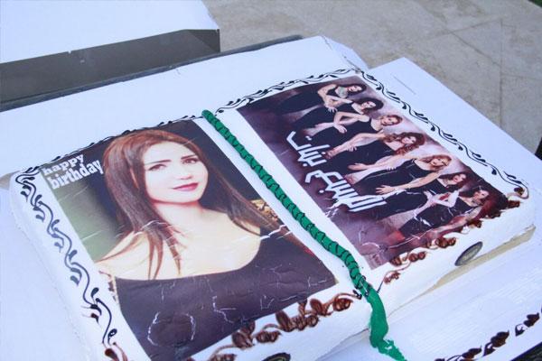 ايناس عز الدين - حفل عيد ميلادها