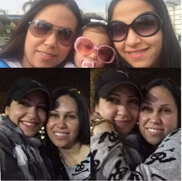 ياسمين جمال وشقيقتها