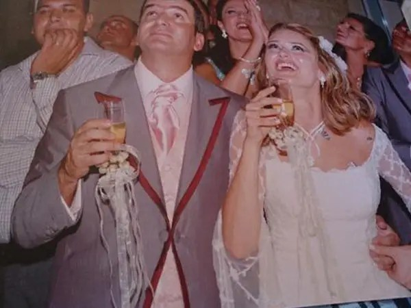 طوني خليفة وزوجته2