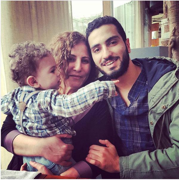 محمد الشرنوبي ووالدته