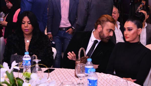 غادة عبدالرازق و محمد كريم
