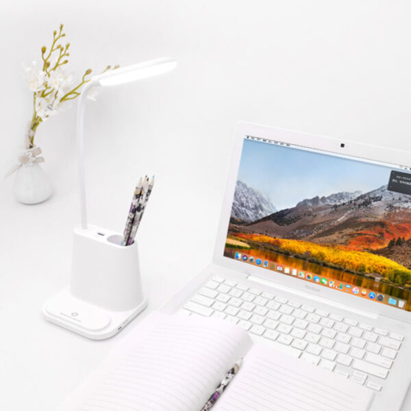 USB Rechargeable LED Desk Lamp