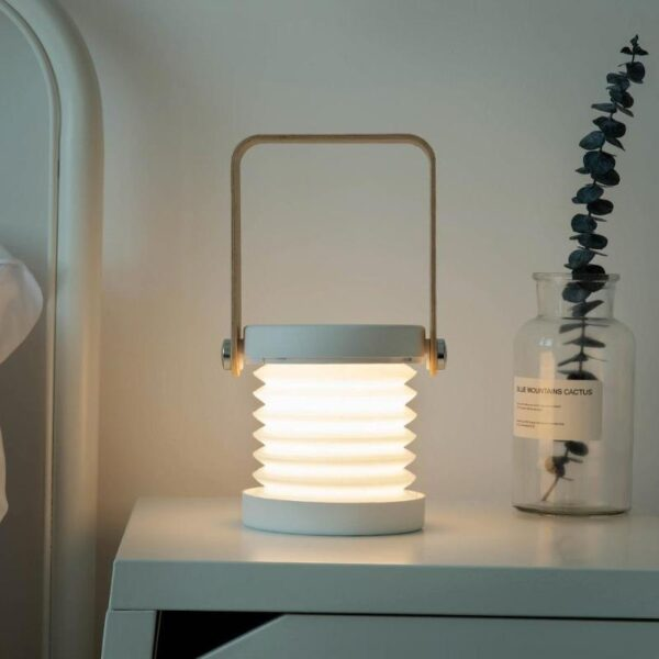 Multi-Functional Retractable Folding Portable Rechargeable Night Light