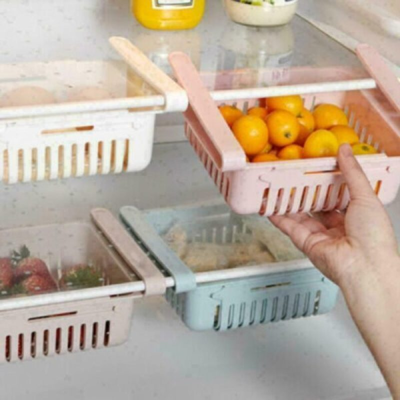 Adjustable Storage Rack Refrigerator