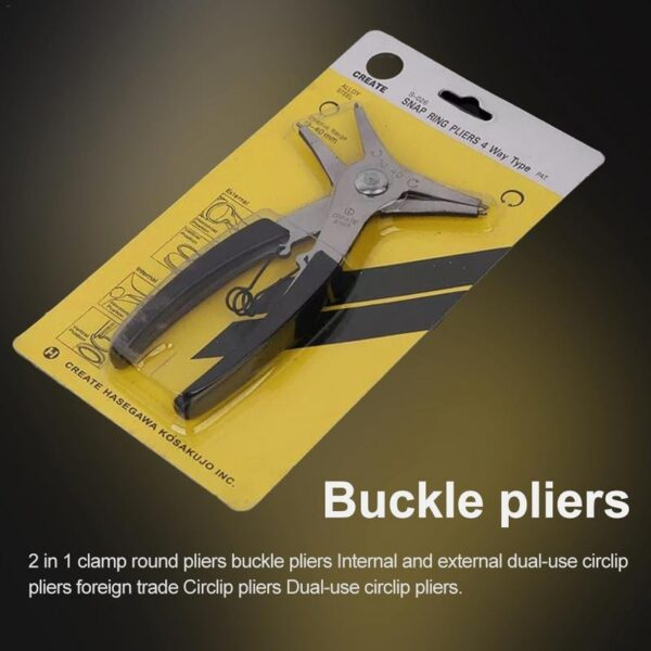 2 IN 1 CIRCLIP PLIER SNAP RING PLIERS CIR CLIP INTERNAL EXTERNAL CAR TRUCK