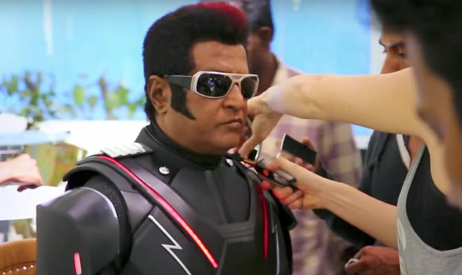 2.0 Movie Stills | Rajinikanth | Akshay Kumar | Amy Jackson | Shankar