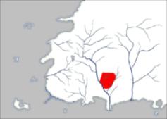 Umiejscowienie Murandy na mapie Westland