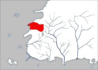 Umiejscowienie Arad Doman na mapie Westland