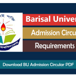 barisal-university-admission-circular