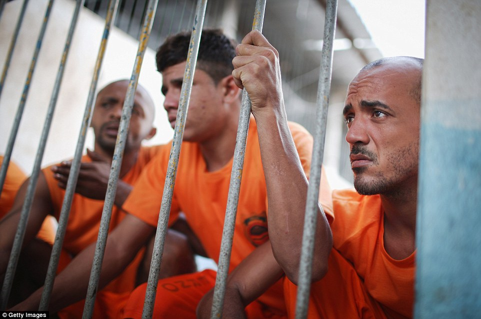 During one riot, three inmates were decapitated after two rival gangs broke out of their cells and went on the rampage