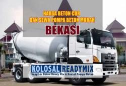 Harga Beton Cor Ready Mix Bekasi Per M3 Terbaru 2020