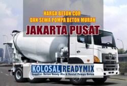 Harga Beton Cor Jakarta Pusat Per M3 Terbaru 2020