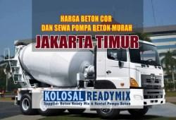 Harga Beton Cor Jakarta Timur Per M3 Terbaru 2020
