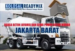 Harga Beton Cor Jayamix Jakarta Barat Per M3 Terbaru 2020