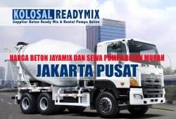 Harga Beton Cor Jayamix Jakarta Pusat Per M3 Terbaru 2020