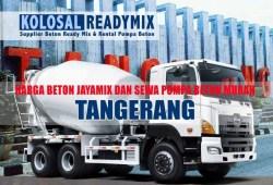 Harga Beton Cor Jayamix Tangerang Per M3 Terbaru 2020