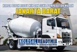 Harga Beton Ready Mix Jakarta Barat Per M3 Terbaru 2020