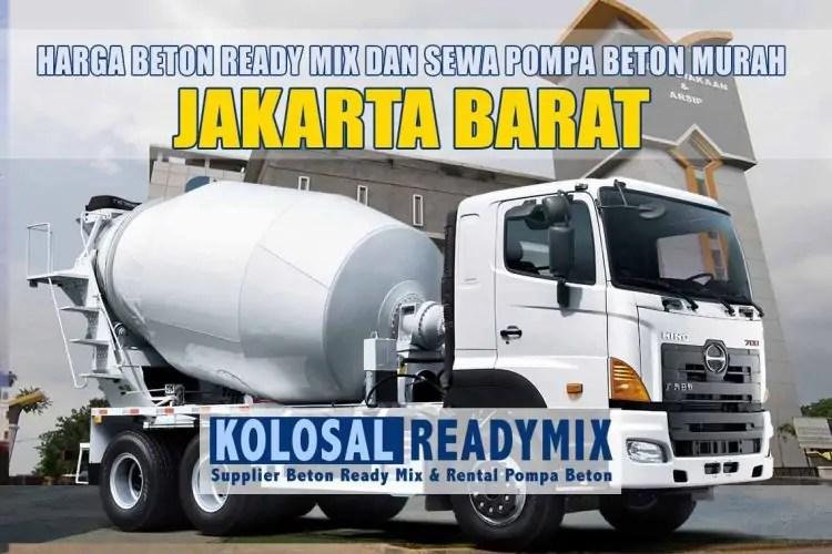 harga beton ready mix jakarta barat