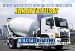 Harga Beton Ready Mix Jakarta Pusat Per M3 Terbaru 2020