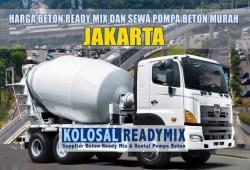 Harga Beton Ready Mix Jakarta Per M3 Terbaru 2020