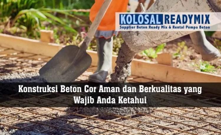 konstruksi beton
