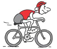 Symbol Bild Radtour