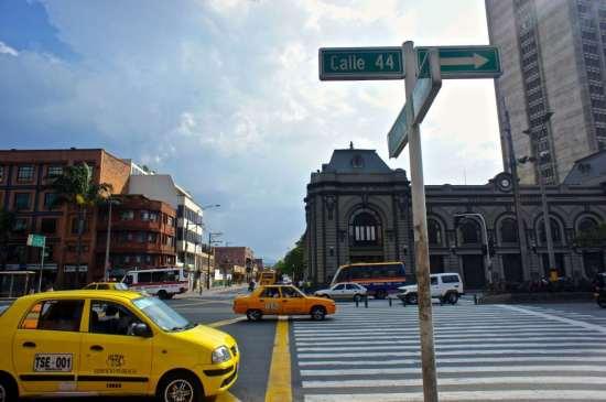 Taxi in Medellin