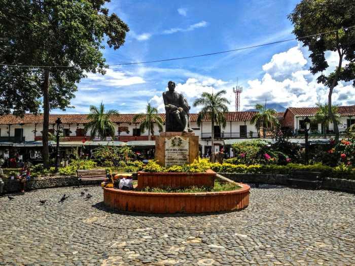 Zentrum Santa fe de Antioquia