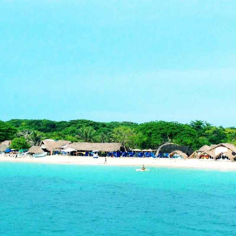 Isla Baru Playa Blanca