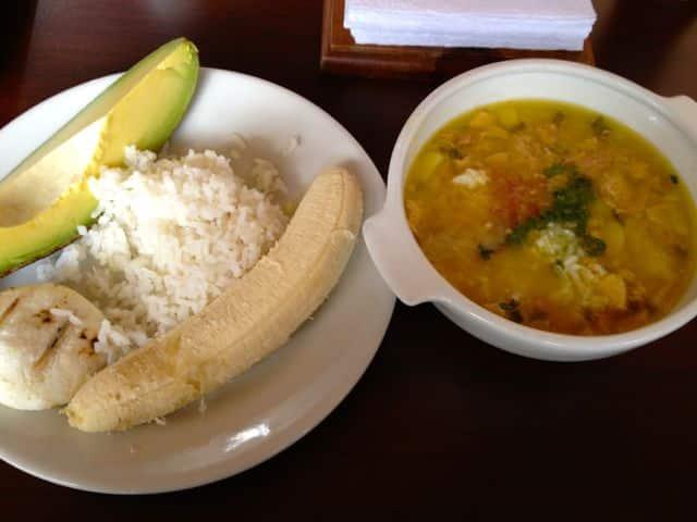 Kolumbianisches Essen