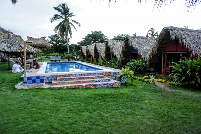 Tiki Hut Hostel in Palomino La Guajira