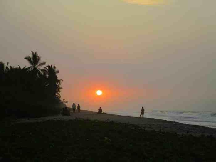 Sonnenuntergang Palominp