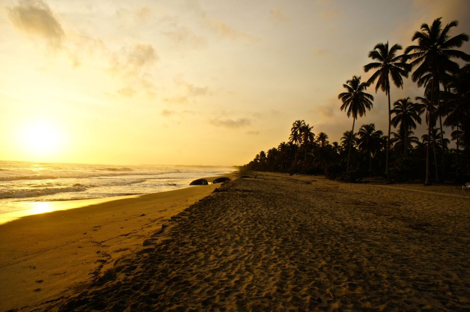 Sonnenuntergang Palomino Strand